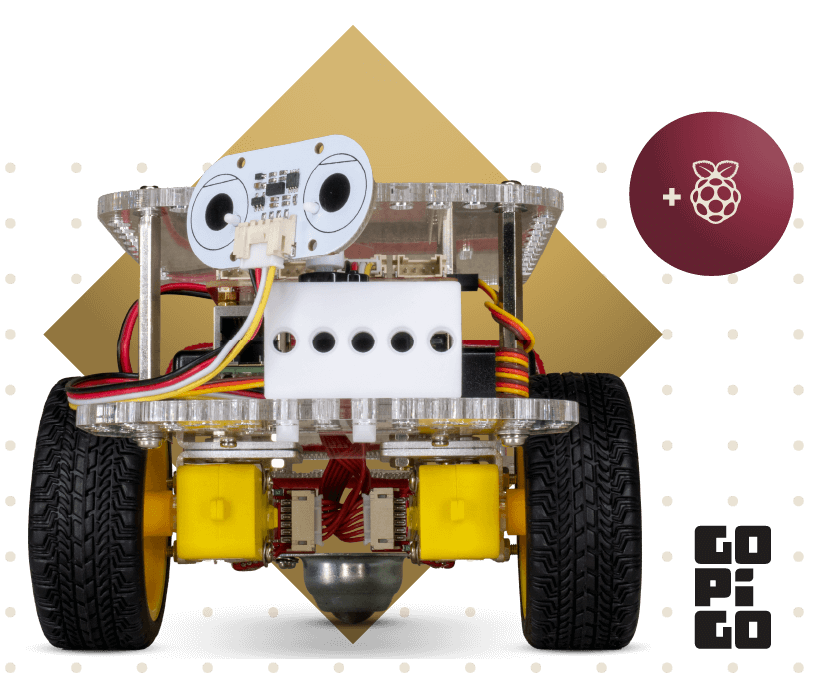 GoPiGo Raspberry Pi robot kit
