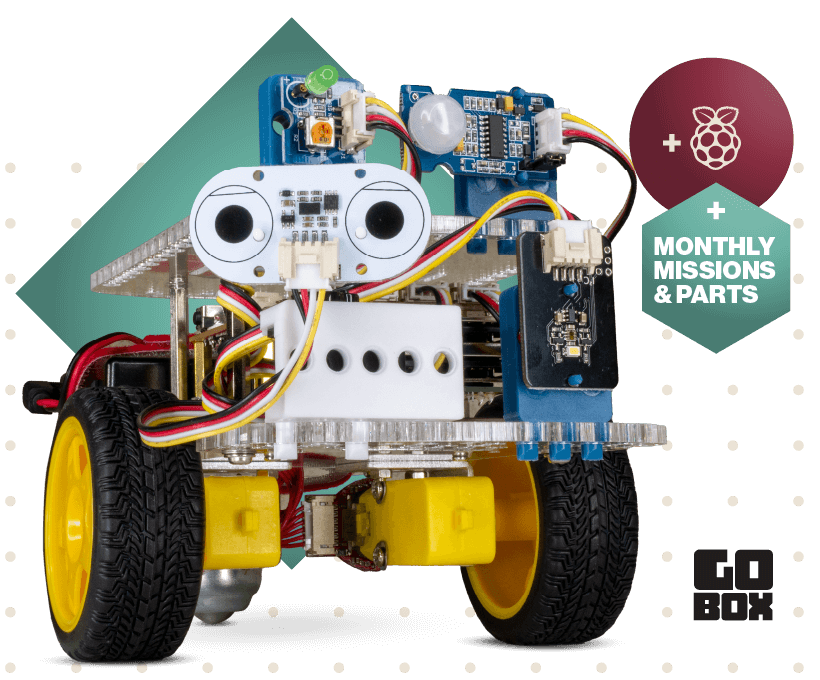 GoBox Raspberry Pi robot subscription
