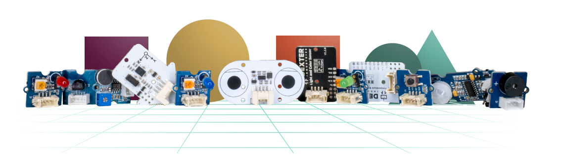 GoPiGo robot sensors and actuators. Plug and play.