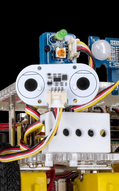 GoPiGo robot closeup
