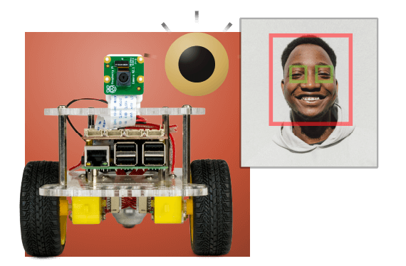 GoPiGo Raspberry Pi robot with camera and computer vision