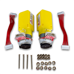 GoPiGo3 motor replacement kit.