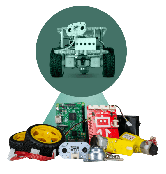Build your own Raspberry Pi robot.