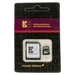 GoPiGo OS microSD card.